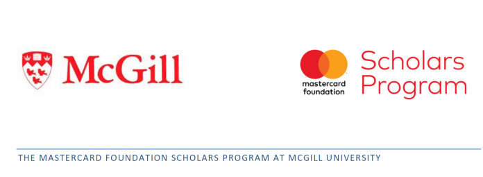 MasterCard Foundation Scholarships At McGill University in Canada, 2018