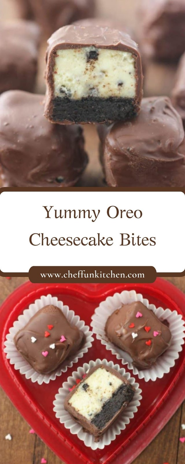 Yummy Oreo Cheesecake Bites