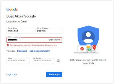 Cara Terbaru Membuat Akun Gmail 2020