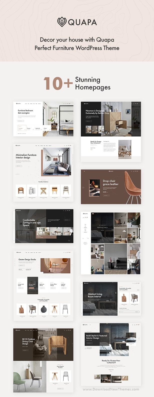 Quapa - Furniture WooCommerce WordPress Theme