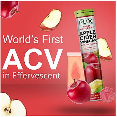 PLIX Apple Cider Vinegar in Effervescent Tablets