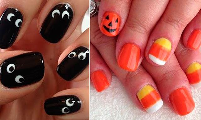 Unhas temáticas para Halloween, Idéias para Halloween