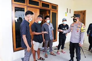 Ledakan Petasan Polres Kebumen Gelar Razia di Ngabean Mirit