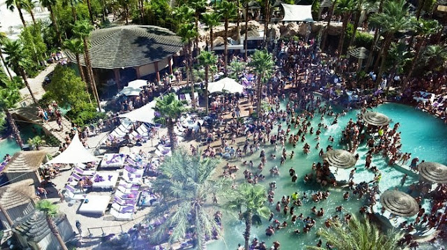 Hard Rock Piscina Party Las Vegas