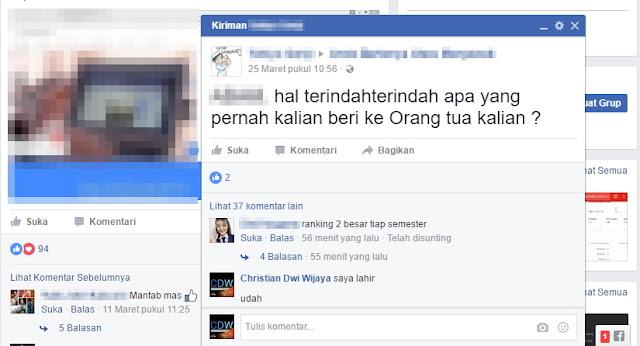 Cara Mematikan Fitur Posting Tab di Facebook