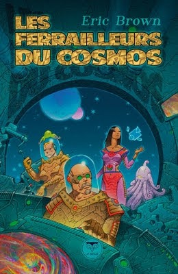 Les ferrailleurs du cosmos - Couverture