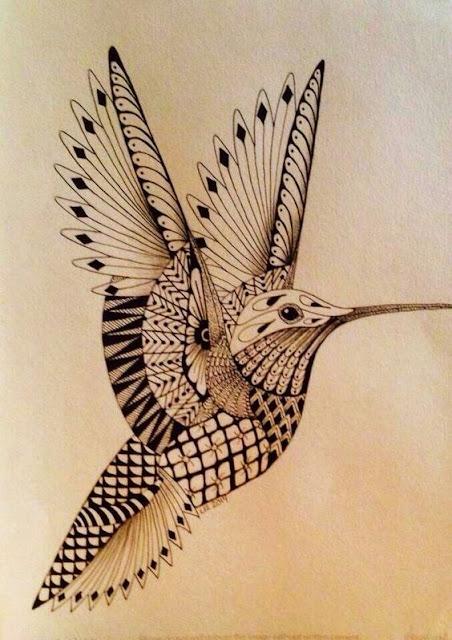 Lovely Hummingbird Tattoos For Women