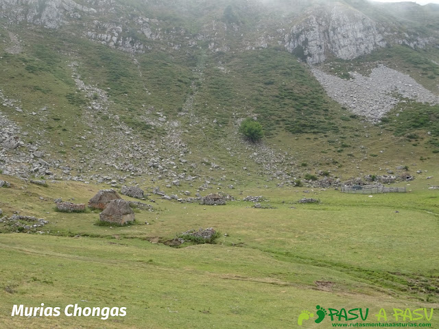 Ruta a Peña Chana: Braña Murias Chongas