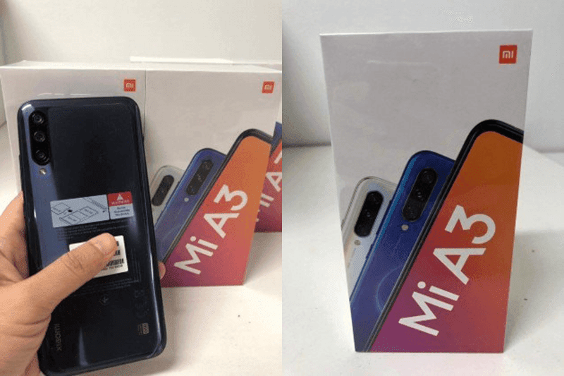 Xiaomi Mi A3 and packaging leaked online, comes with similar specs to CC9e