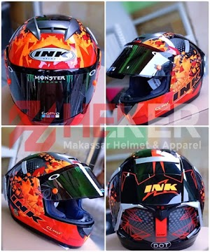 CL MAX 6 FULL VARIASI | Helm Makassar