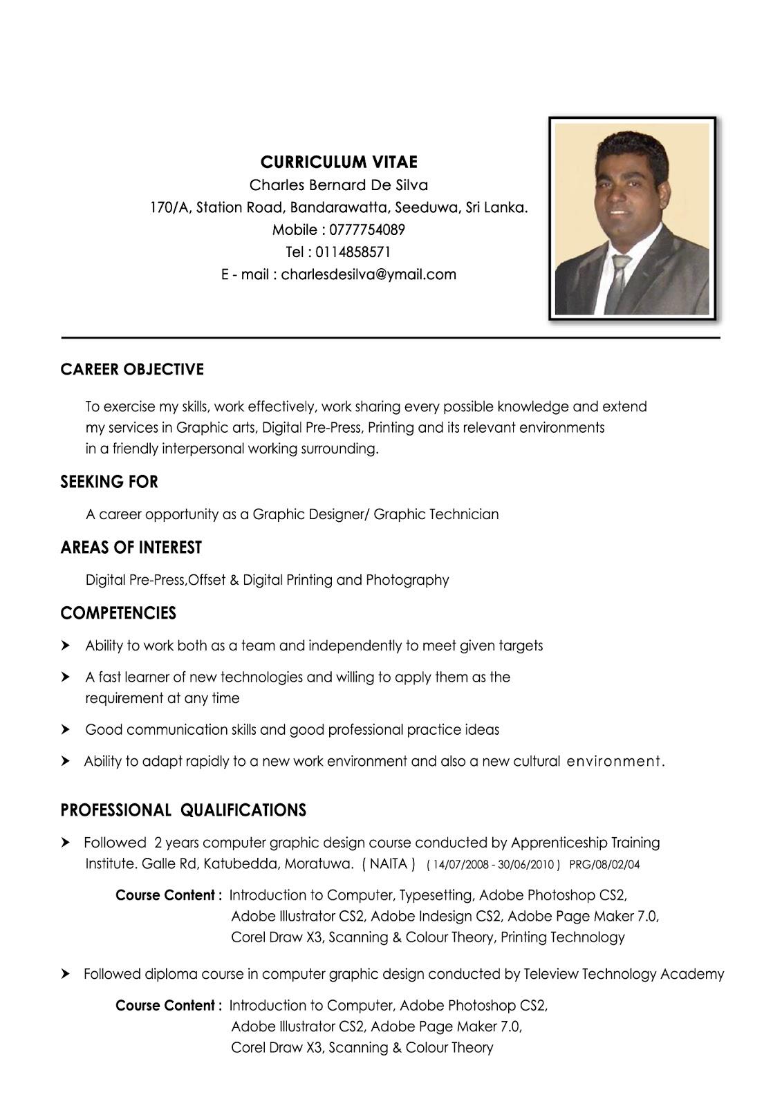Charley Graphics Curriculum Vitae