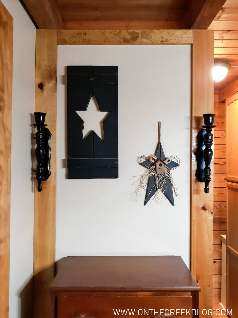 Vignettes for open floor plans   On The Creek Blog