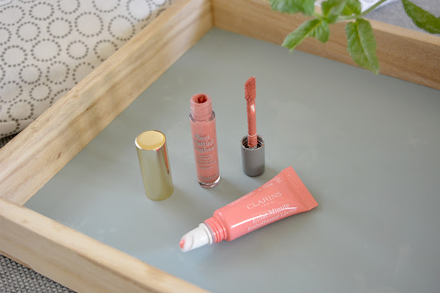 Clarins Instant Light Natural Lip Perfector - 01 & The Balm Meet Matt(e) Hughes Liquid Lipstick