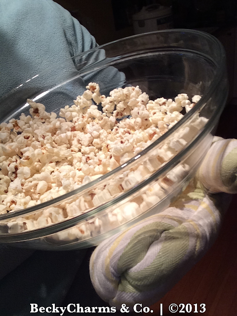Microwave Popcorn In A Bowl DIY REVEALED by BeckyCharms