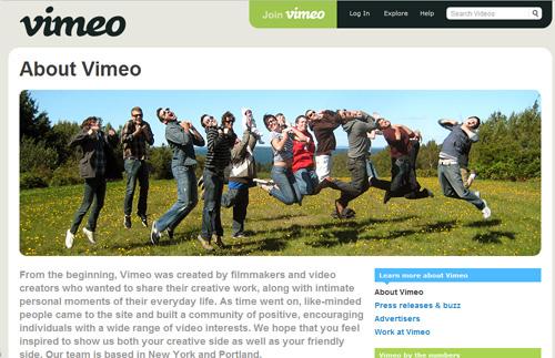 أفضل 13 موقع فيديو مثل يوتيوب -  Vimeo