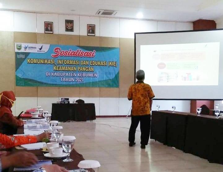 BBPOM Semarang Dorong Lahirnya Kader Gerakan Keamanan Pangan di Kebumen