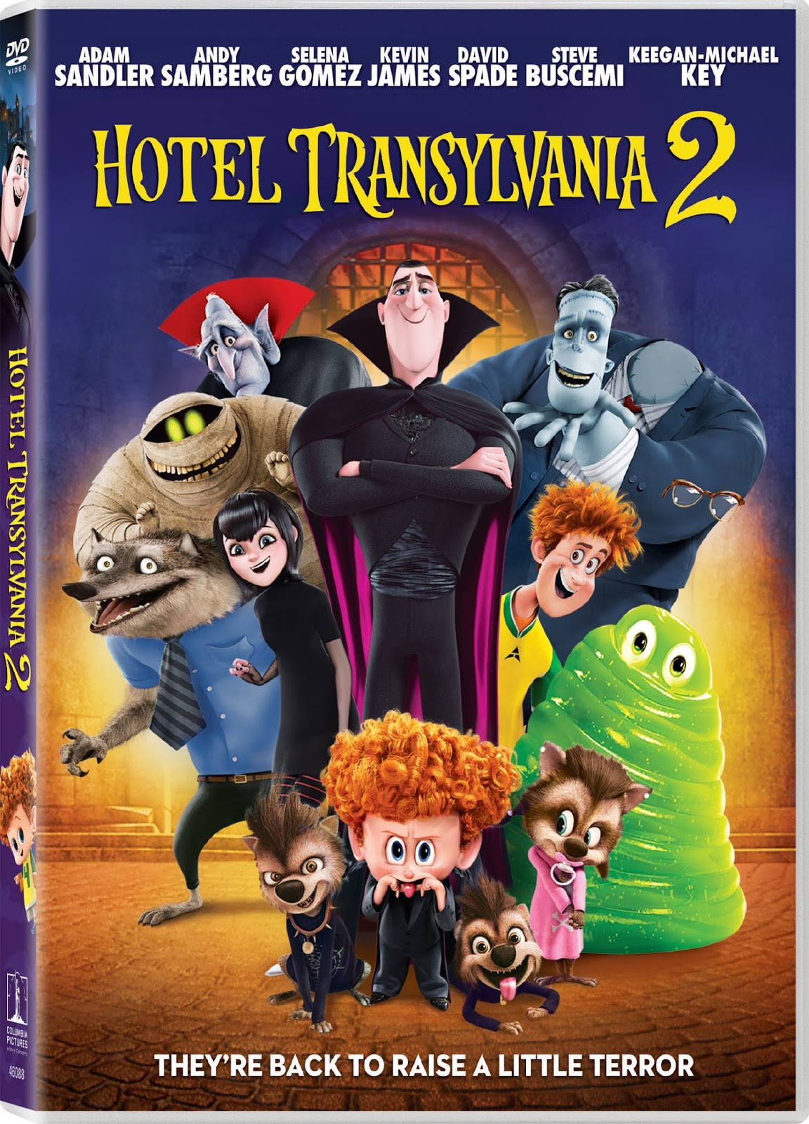 Welcome To Hotel Transylvania Draculas Lavish Five Stake Resort Where Monsters And Their Families Can Live It Up No Humans Are Allowed One Special