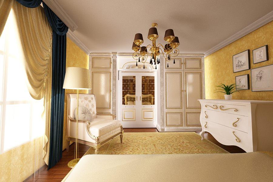 Design interior dormitor casa stil clasic Bucuresti - Amenajari Interioare / Arhitect Bucuresti