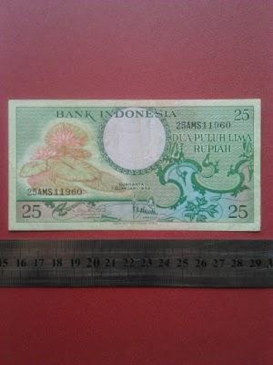 25 rupiah tahun 1959