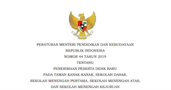 permendikbud PPDB 2020