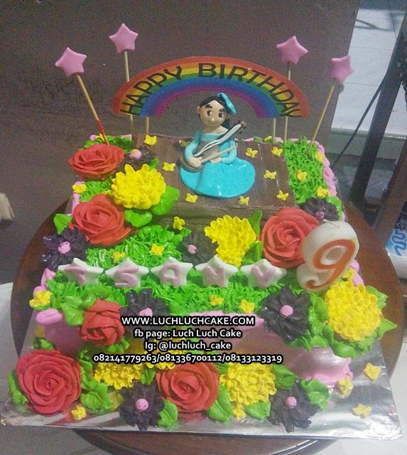Kue Tart Ulang Tahun Untuk Anak Cewek