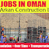 Latest Job Openings in Al Arkan Construction LLC - Oman