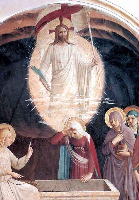 A Ressurreição de Cristo, Beato Fra Angelico (1395 – 1455). Convento de San Marco, Florença