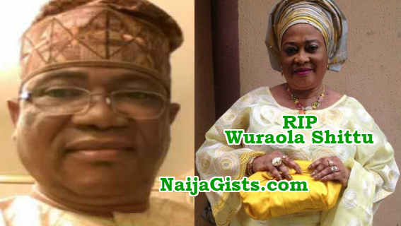 lanre shittu motors loses wife to cancer