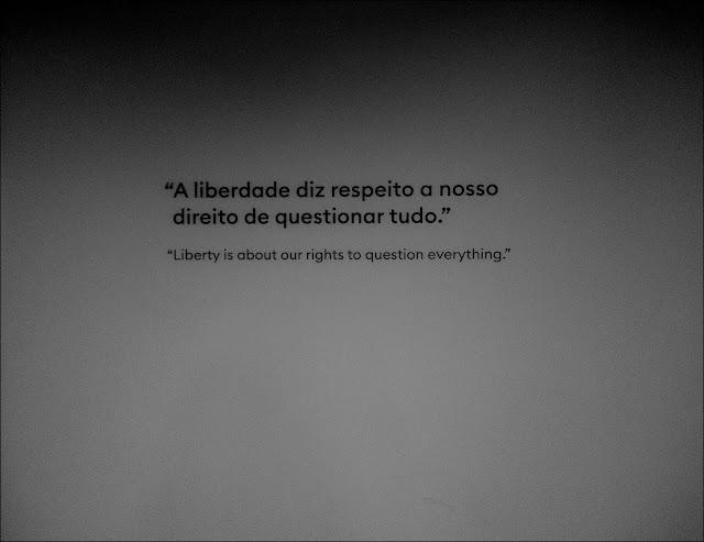 Foto: obra de Ai Weiwei exposição CCBB RJ