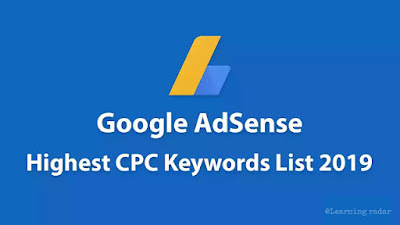 Top 101 High CPC Adsense Keywords That Could Make More than $150 Per Day