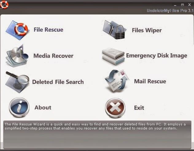 UndeleteMyFiles Pro - Δωρεάν πρόγραμμα ανάκτησης διαγραμμένων αρχείων