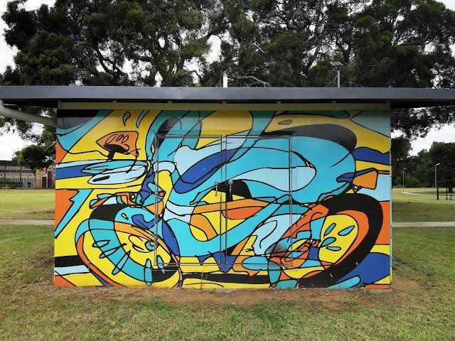 Street Art in Miller   Sydney Street Art