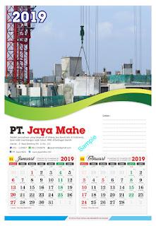Jasa Cetak Kalender 2019 Murah Jakarta Timur