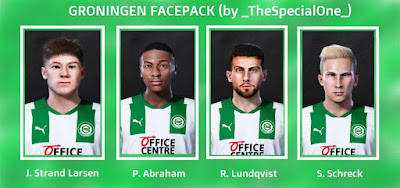 PES 2021 Gronigen Facepack by TheSpecialOne