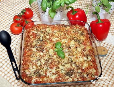 Cannelloni w stylu meksykańskim
