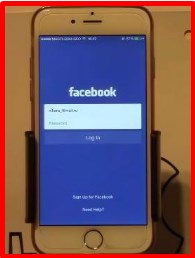 how to logout of facebook app iphone