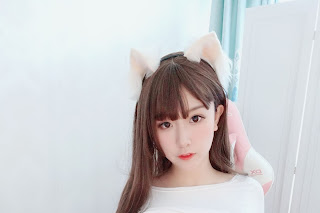Cosplay 猫九酱Sakura - Female Cat Streamer