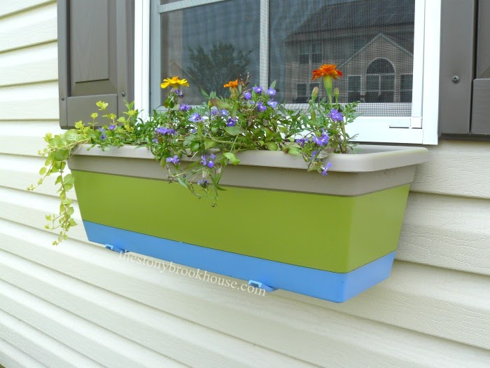 Tape & Paint window box