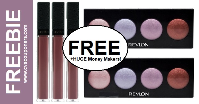 FREE Revlon Lip Gloss or Shadow at CVS 10-13-10-19