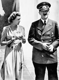 Hitler with girlfriend Eva Braun