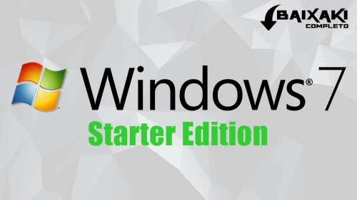 Windows 7 Starter ISO Em Português Torrent