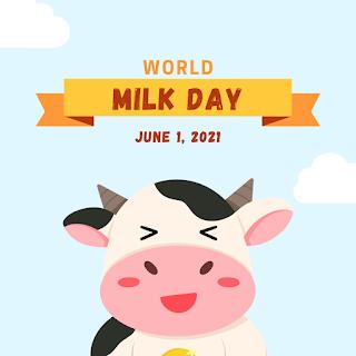 Template Ucapan Selamat Hari Susu Sedunia 1 Juni