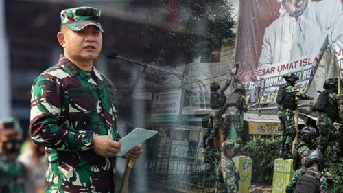 Jadi Pangkostrad, Dudung tak Peduli Dituding Cuma Berani Turunin Baliho FPI