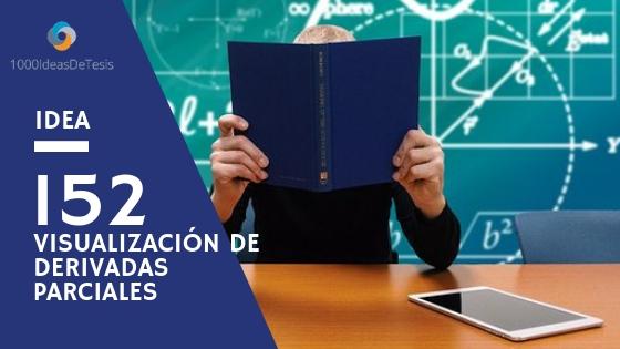 Idea 152 de 1000 ideas de tesis: ¿Cómo provocar la visualización de la derivada parcial de funciones de dos variables en estudiantes universitarios?