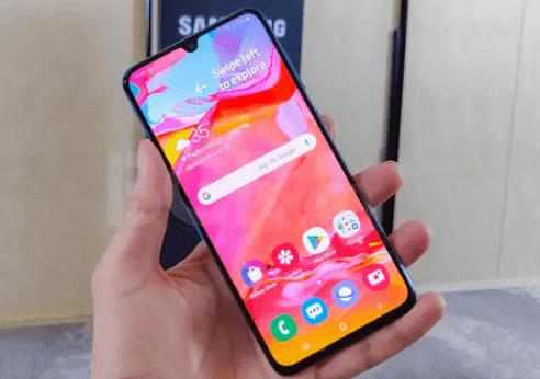 Spesifikasi Performa Samsung Galaxy A70