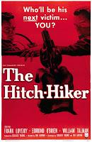 Póster película El autoestopista - The Hitch-Hiker