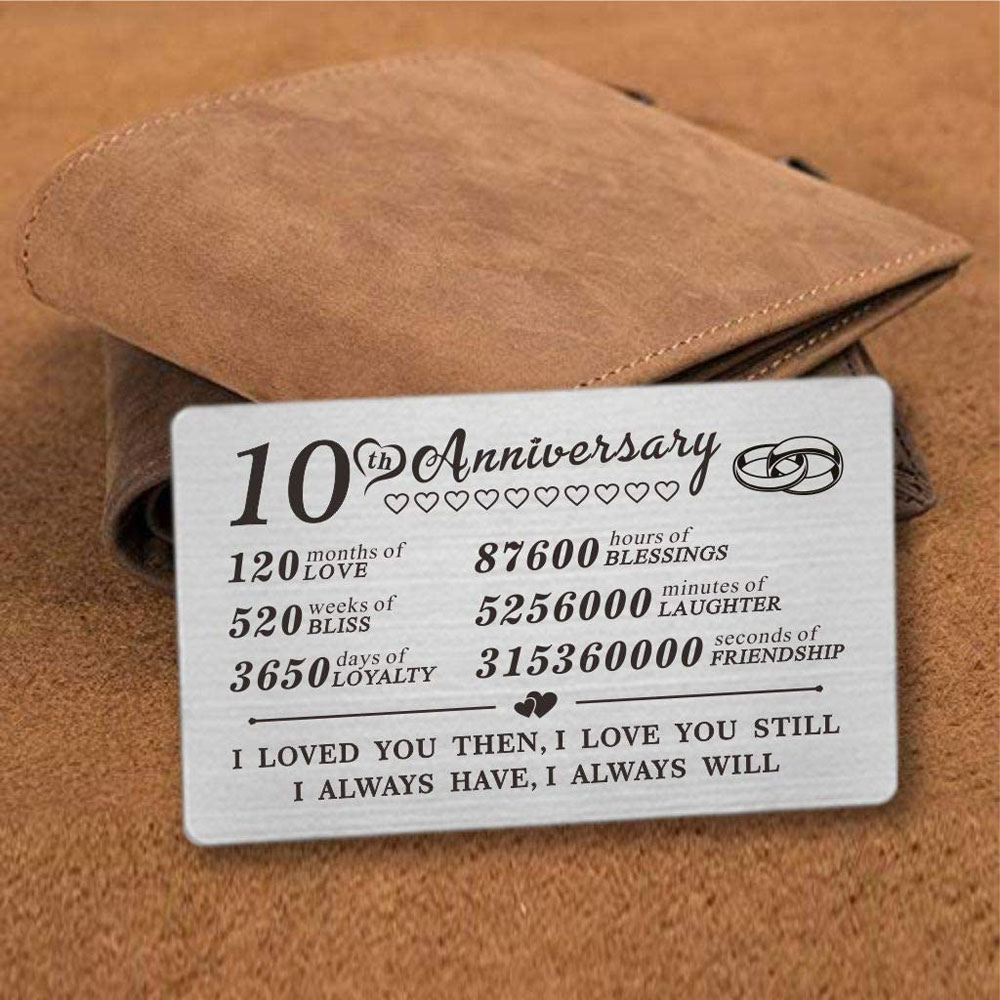 wallet card gift for him