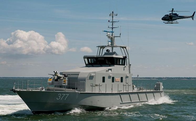 патрульний катер Ocea FPB 98