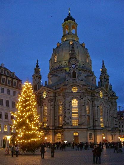 Piazza Neumarkt Dresda