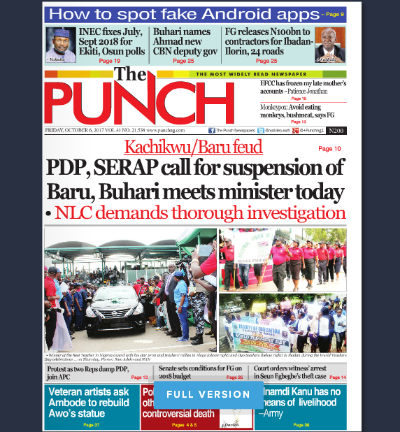 read nigerian news papers online